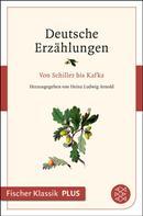 Heinz Ludwig Arnold: Deutsche Erzählungen