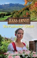 Hans Ernst: Die Posthalter-Christl