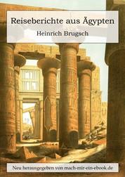 Reiseberichte aus Ägypten