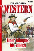 G.F. Barner: Die großen Western 259 ★★★★★