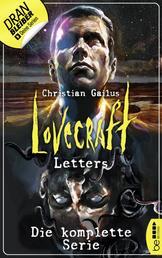 Lovecraft Letters - Die komplette Serie - Alle 8 Folgen in einem fantastischen eBook