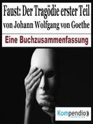 Alessandro Dallmann: Faust: Der Tragödie erster Teil von Johann Wolfgang von Goethe