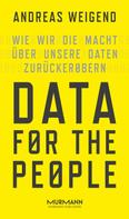 Andreas Weigend: Data for the People ★★★★