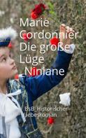 Marie Cordonnier: Die große Lüge_Niniane ★★★★★