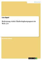 Bedeutung viraler Marketingkampagnen im Web 2.0