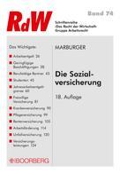 Horst Marburger: Die Sozialversicherung