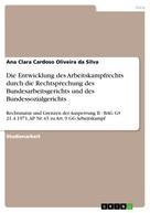 Ana Clara Cardoso Oliveira da Silva: Die Entwicklung des Arbeitskampfrechts durch die Rechtsprechung des Bundesarbeitsgerichts und des Bundessozialgerichts