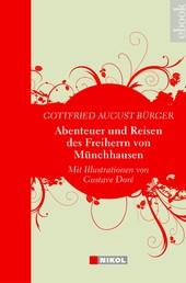 Abenteuer und Reisen des Freiherrn von Münchhausen - mit Illustrationen von Gustave Doré