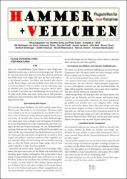 Hammer + Veilchen Nr. 6 - Flugschriften für neue Kurzprosa