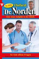 Patricia Vandenberg: Chefarzt Dr. Norden 1121 – Arztroman ★★