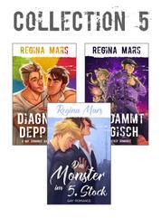 Regina Mars Collection 5 - 2 Romane, 4 Kurzgeschichten: Das Monster im 5. Stock, Diagnose Depp 1-4, Verdammt magisch