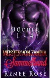 Meister-von-Zandia Sammelband, Bücher 1-4
