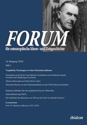 FORUM für osteuropäische Ideen- und Zeitgeschichte - Vergebliche Warnungen vor dem Nationalsozialismus