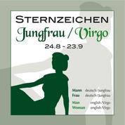Sternzeichen Jungfrau 24.8.-23.9.