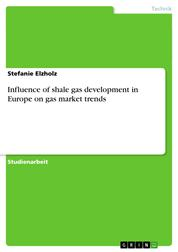 Influence of shale gas development in Europe on gas market trends