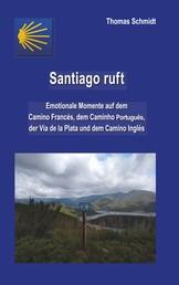 Santiago ruft - Emotionale Momente auf dem Camino Francés, dem Caminho Portugues, der Vía de la Plata und dem Camino Inglés