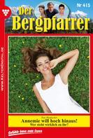 Toni Waidacher: Der Bergpfarrer 415 – Heimatroman ★★★★★