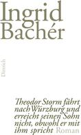 Ingrid Bachér: Theodor Storm fährt nach Würzburg und erreicht seinen Sohn nicht, obwohl er mit ihm spricht ★★★★★