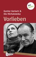 Gunter Gerlach: Vorlieben - Literatur-Quickie