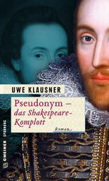 Pseudonym - das Shakespeare-Komplott - Ein Fall für Clayton Percival