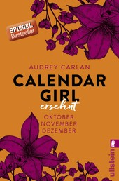 Calendar Girl - Ersehnt - Oktober/November/Dezember
