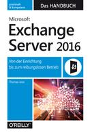 Thomas Joos: Microsoft Exchange Server 2016 – Das Handbuch ★★★★★