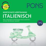 PONS Wortschatz-Hörtraining Italienisch - Audio-Vokabeltrainer für Anfänger