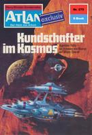 H. G. Ewers: Atlan 275: Kundschafter im Kosmos ★★★★★