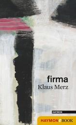 firma - Prosa Gedichte
