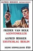 Alfred Bekker: Krimi Doppelband 50