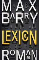 Max Barry: Lexicon ★★★★★