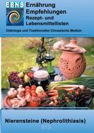 Josef Miligui: Ernährung bei Nierensteine