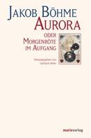 Gerhard Wehr: Aurora oder Morgenröte im Aufgang