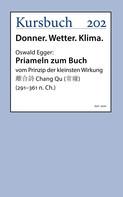 Oswald Egger: Priameln zum Buch vom Prinzip der kleinsten Wirkung