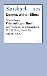 Priameln zum Buch vom Prinzip der kleinsten Wirkung - 離合詩 Chang Qu (常璩) (291–361 n. Ch.)