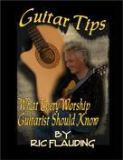 Ric Flauding: Guitar Tips