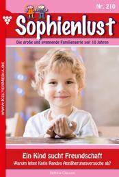 Sophienlust 210 – Familienroman - Ein Kind sucht Freundschaft