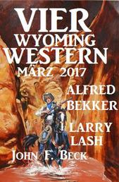 Vier Wyoming Western März 2017