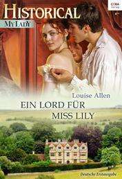 Ein Lord für Miss Lily