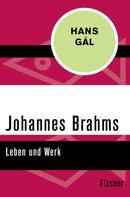 Hans Gál: Johannes Brahms