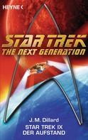 J. M. Dillard: Star Trek IX: Der Aufstand ★★★