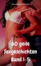 60 geile Sexgeschichten Band 1-5 - Versauter Erotiksammelband