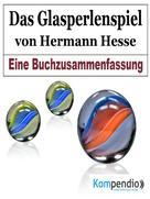 Alessandro Dallmann: Das Glasperlenspiel von Hermann Hesse ★★★