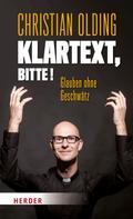 Christian Olding: Klartext, bitte! ★★★★