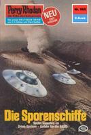 Ernst Vlcek: Perry Rhodan 965: Die Sporenschiffe ★★★★★