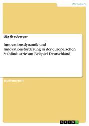Innovationsdynamik und Innovationsförderung in der europäischen Stahlindustrie am Beispiel Deutschland