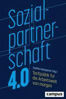 Steffen Kampeter: Sozialpartnerschaft 4.0