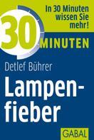 Detlef Bührer: 30 Minuten Lampenfieber ★★★
