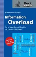 Alexander Greisle: Information Overload ★★★★