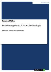 Evaluierung der SAP HANA Technologie - ERP und Business Intelligence